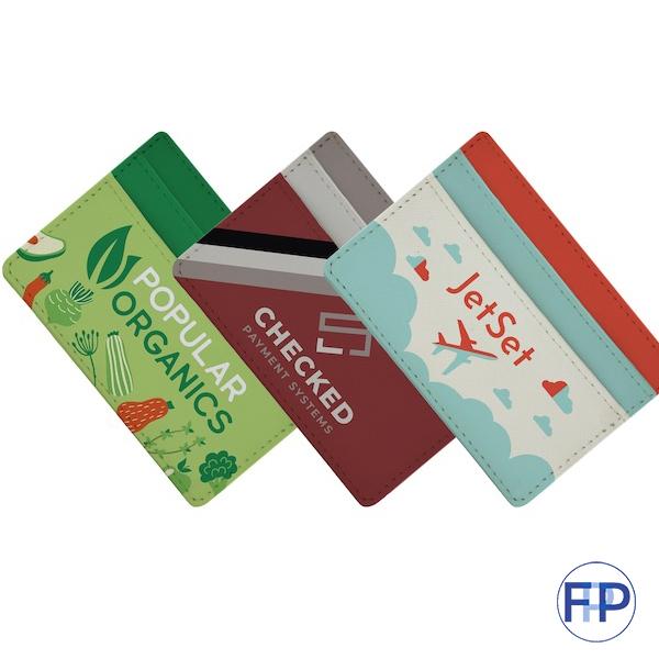 Vegan Leather Card Wallet