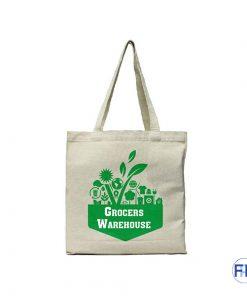 canvas organic cotton shopping bag