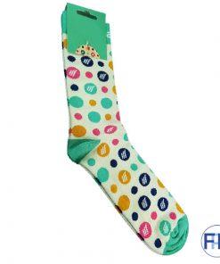 custom promo knit socks