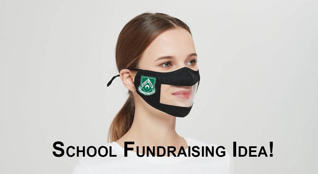 school-fundraiser-with-clear-vu-mask