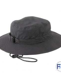 Black-safari-hat-with-adjustable-strap