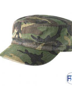 Camo-military-style-cotton-cap-for-logo