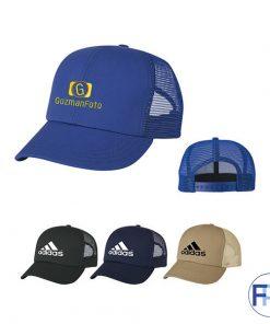 Khaki-cotton-meshback-6-panel-baseball-cap